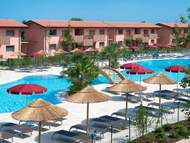 Ferienanlage - Ferienanlage mit Pool Green Village Resort in Lignano (max. 7 Personen)