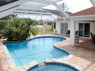 Ferienhaus - Ferienhaus mit Pool Fresh Water in Cape Coral (max. 8 Personen)